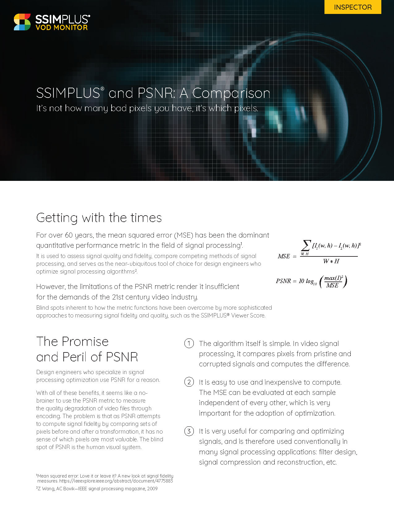 A visual of the first page of the white paper
