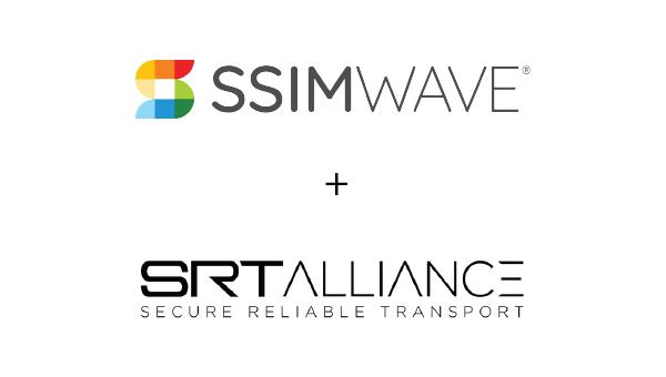 SSIMWAVE and SRT Alliance logos